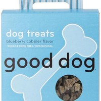 Sojos Good Dog 100% Natural Blueberry Cobbler Training Treats 8 oz