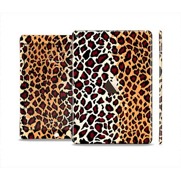 The Vector Brown Leopard Print Skin Set for the Apple iPad Air 2