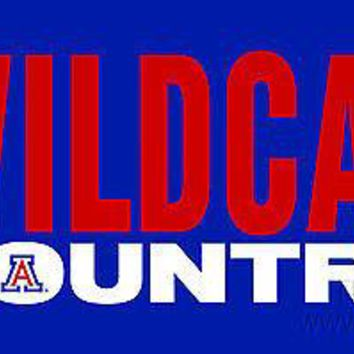 Arizona Wildcats COUNTRY 11685 SD Laser License Plate Tag University of