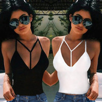 Summer Vest Top Sleeveless Women Blouse Casual Tank Tops T Shirt Size S-XL.Sexy