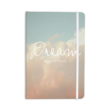"Suzanne Carter ""Dream"" Quote Clouds Everything Notebook"