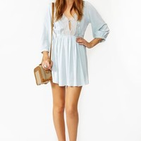 Zeppelin Dress - Sky Blue