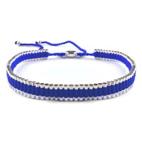 Blue Metal Choker