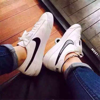Nike classic fashion The small white shoes 36 ~ 44