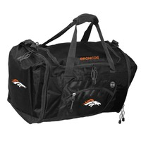Denver Broncos NFL Roadblock Duffle Bag (Black)