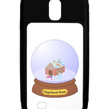 Little Gingerbread House Snow Globe Galaxy S4 Case  by TooLoud