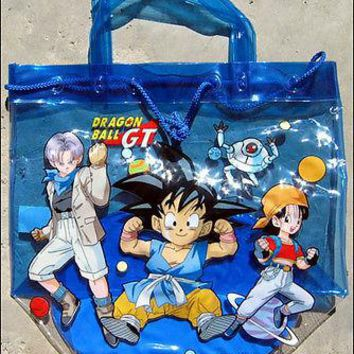 Dragonball GT Anime Vinyl Tote Bag Purse 100% Official Japan Product BRAND NEW!!