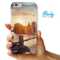 "NYC Sunset Eve iPhone 6 Plus or 6s Plus (5.5"" iPhone) Ultra Gloss Candy Shell Case"