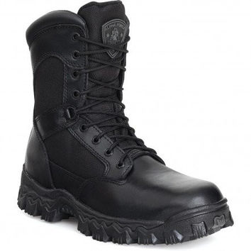 Rocky 8″ Alpha Force Side Zip Waterproof Military Boot