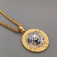 Jewelry Stylish Gift New Arrival Shiny Hot Sale Fashion Hip-hop Club Necklace [6542764419]