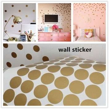 New Polka Usable Nursery Children Decor Wall Decals 2018 Home DIY Sticker Room Decoration Dots Newest Wall Kids