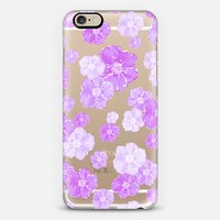 Lavender Blossoms (transparent) iPhone 6 case by Lisa Argyropoulos | Casetify