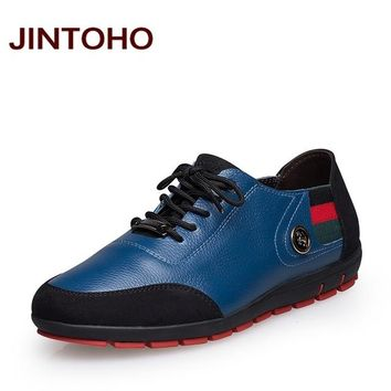 Male shoes casual genuine leather moccasin designer men shoes