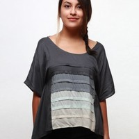 Gentle Fawn Motion Top - Charcoal - Punk.com