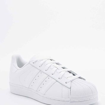 Adidas Superstar 80s Trainers in All White - Urban Outfitters