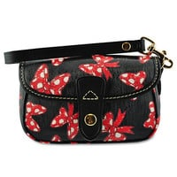 Disney Minnie Mouse Bow Wristlet Bag by Dooney & Bourke - Black | Disney Store