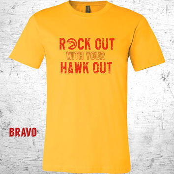 Atlanta Hawks Shirt. Rock Out With Your Hawk Out. Hawks Shirt. Atlanta Hawks. Atlanta Shirt. NBA Shirt.