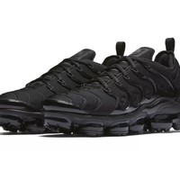 "Nike's Air VaporMax Plus ""Triple Black"" Gets an Official Release Date"