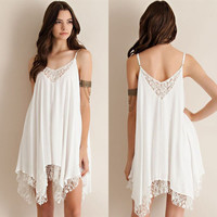 Sexy Women Summer Evening Party Dress Beach Dress Sundress Mini Dress Fashion Women Ladies Summer Clothing beach  = 6141627079