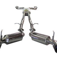 SES1987TT Injen Exhaust System - Cat-Back for 03-08 Nissan 350z at Andy's Auto Sport