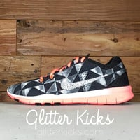 Nike Free Run TR Fit 5 - Crystallized Swarovski Swoosh