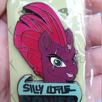 Tempest Shadow enamel pin Silly Ponies