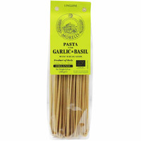 Organic Linguine with Basil & Garlic by Morelli 8.8 oz