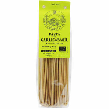 Morelli Linguine with Basil & Garlic 8.8 oz