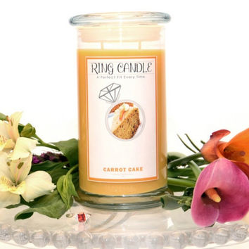 Carrot Cake Ring Candle