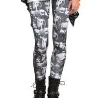 The Walking Dead Her Universe Zombie Leggings   Hot Topic