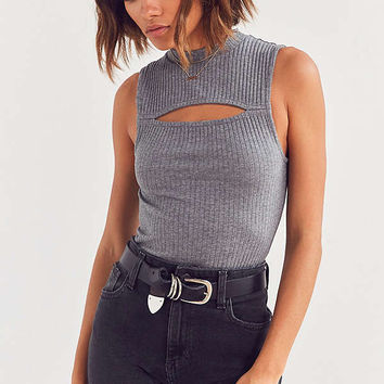 Silence + Noise Sami Slit Tank Top | Urban Outfitters