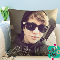Austin Mahone Glasses Zippered Pillow Case, Cushion Case, Pillow case