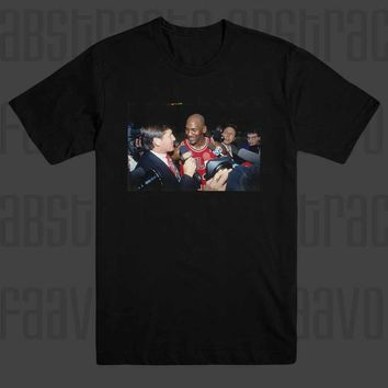 Michael Jordan and Craig Sager Chicago Bulls Icon Hip Hop T Shirt