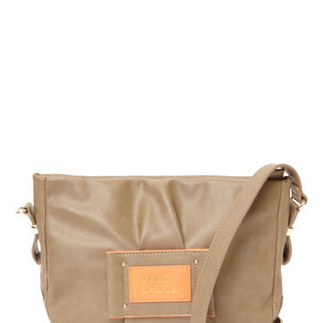 See by Chloe Women's Logo Patch Shoulder Bag - Grey