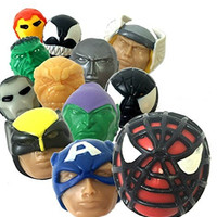Marvel Mashems Squishy Toys Mystery 6-pack Collect All 12