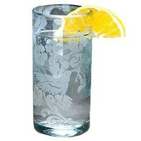 Hummingbird Recycled Drinking Glass (421160062), Recycled Glasses & Drinking Glasses| Colored Glassware â?? Individual Pieces & Drinking Glass Sets