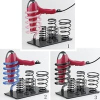 Curling Iron, Flat Iron, Blow Dryer Hair Product & Tool Holder Organizer J0660