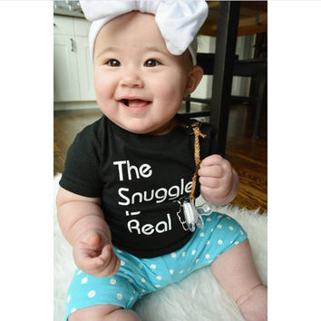 The Snuggle Is Real Toddler Tee
