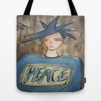 peace  Tote Bag by helendeer