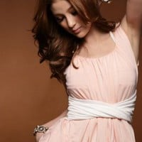 Cool Summer Girls Pink Sweety Sleeveless Tops : Wholesaleclothing4u.com