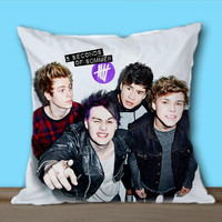 5SOS Funny Selfie on Decorative Pillow Covers