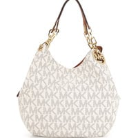 Fulton Large Tote Bag, Vanilla