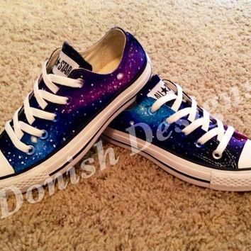 Galaxy Converse Shoes