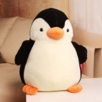 Clumsy Penguin Plush Toy Animal Stuffed Toy for Kids 38CM