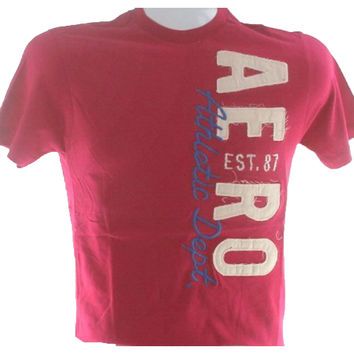 Aeropostale Est 87 Athletic Dept Men's Fashion T Shirt