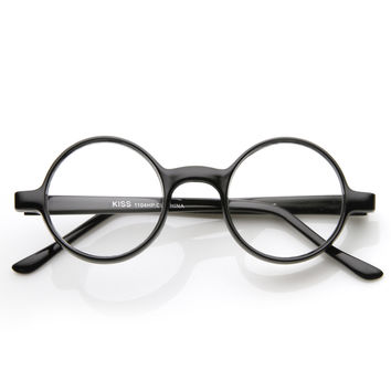 1920's Vintage Round Spectacles Clear Lens Glasses 8682