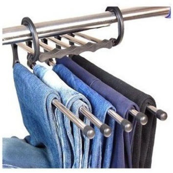 5 In 1 Pants Flex Multi-function Metal Rack [10250058124]