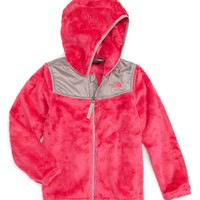 The North Face Oso Fleece Hoodie (Toddler Girls & Little Girls) | Nordstrom