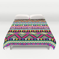 OVERDOSE Duvet Cover by Bianca Green