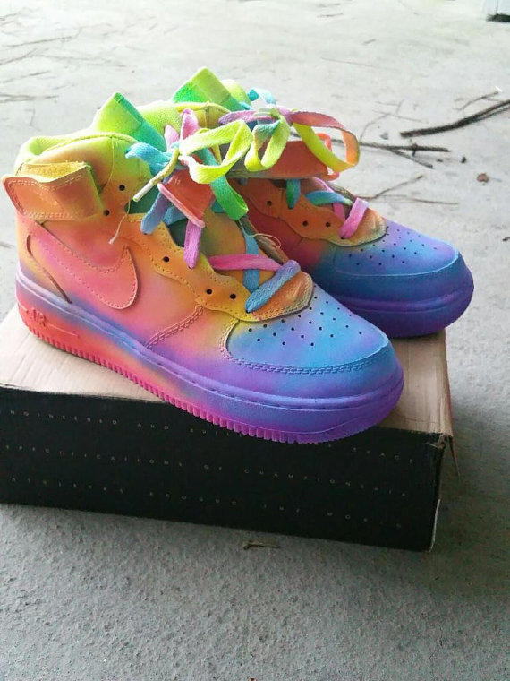 Custom Nike Air Force Ones Jordans
